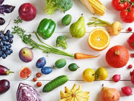 Paniers de fruits et légumes